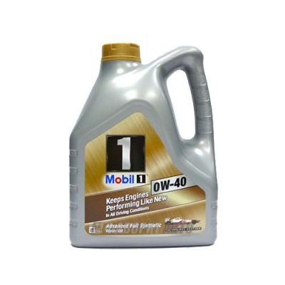 Моторное масло MOBIL-1 New Life 0W-40, 4л, синтетическое