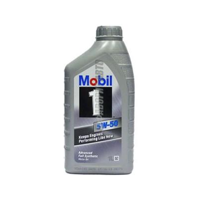 Моторное масло MOBIL-1 5W-50, 1л, синтетическое