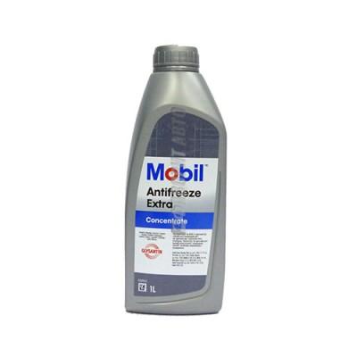 Антифриз MOBIL Extra сине-зеленый, 1л