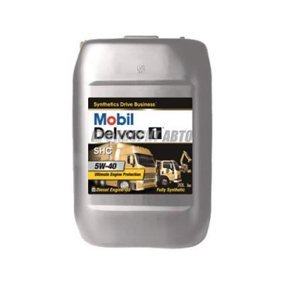 Моторное масло MOBIL DELVAC 1 SHC 5W-40, 20л, синтетическое