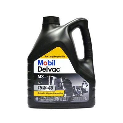 Моторное масло MOBIL Delvac MX 15W-40, 4л, минеральное