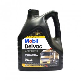 MOBIL Delvac XHP Extra 10W40   4л масло