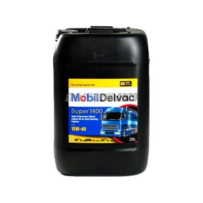 Моторное масло MOBIL DELVAC SUPER 1400 15W-40, 20л, минеральное