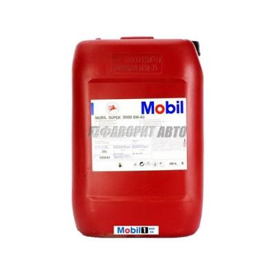 Моторное масло MOBIL SUPER 3000 X 1 5W-40, 20л, синтетическое