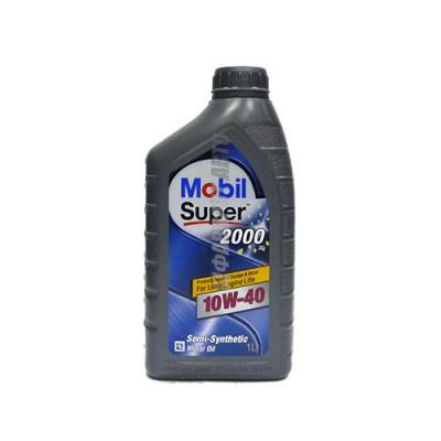 Моторное масло MOBIL SUPER 2000 X 1 10W-40, 1л, полусинтетическое