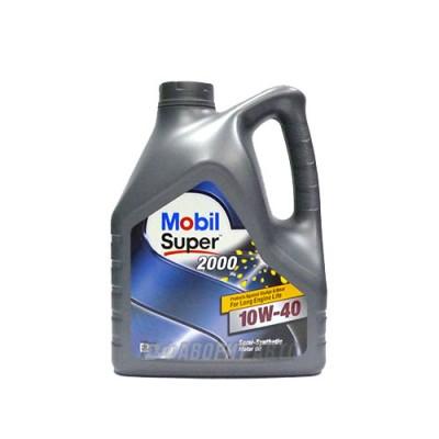 Моторное масло MOBIL SUPER 2000 X 1 10W-40, 4л, полусинтетическое