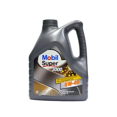 Моторное масло MOBIL SUPER 3000 X 1 5W-40, 4л, синтетическое