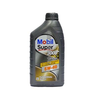 Моторное масло MOBIL SUPER 3000 X 1 Diesel 5W-40, 1л, синтетическое
