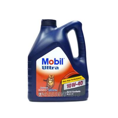 Моторное масло MOBIL Ultra 10W40, 4л, полусинтетическое