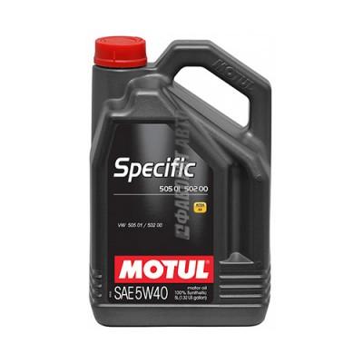 Моторное масло MOTUL Specific 5W-40, 5л, синтетическое
