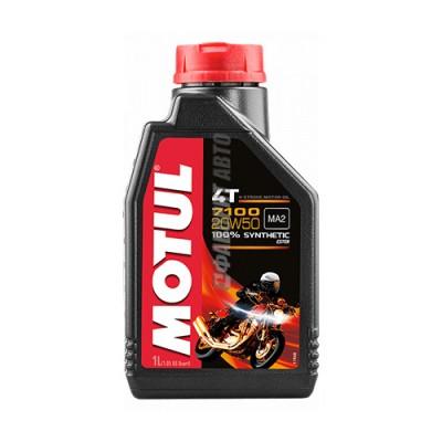 Моторное масло MOTUL 7100 4T 20W-50, 1л, синтетическое