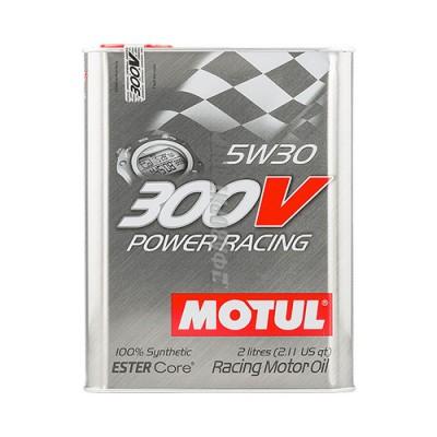 Моторное масло MOTUL 300V Power ESTER Core 5W-30, 2л, синтетическое