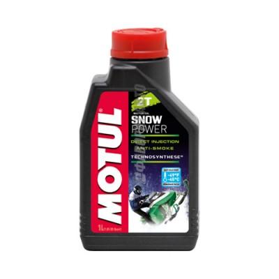 Моторное масло MOTUL Snowpower 2T, 1л, полусинтетическое
