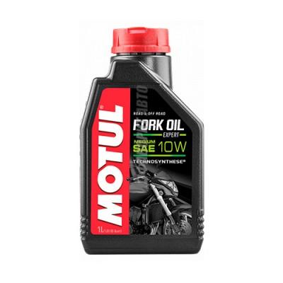 Гидравлическое масло MOTUL Fork Oil Expert medium 10W, 1л, полусинтетическое