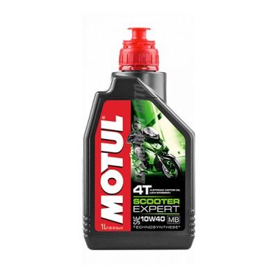 Моторное масло MOTUL Scooter Expert 4T 10W-40, 1л, полусинтетическое