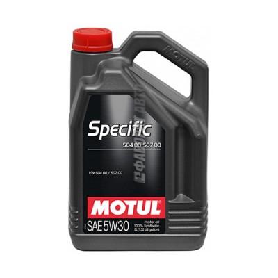 Моторное масло MOTUL Specific 5W-30, 5л, синтетическое