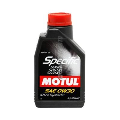 Моторное масло MOTUL Specific 0W-30, 1л, синтетическое
