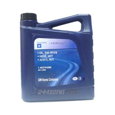 Моторное масло GM DAEWOO ENGINE OIL 5W-30, 4л, синтетическое