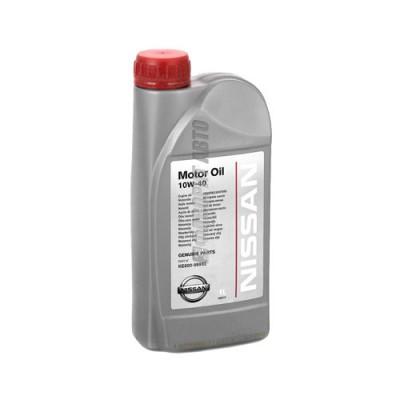Моторное масло NISSAN Motor Oil 10W-40, 1л, полусинтетическое