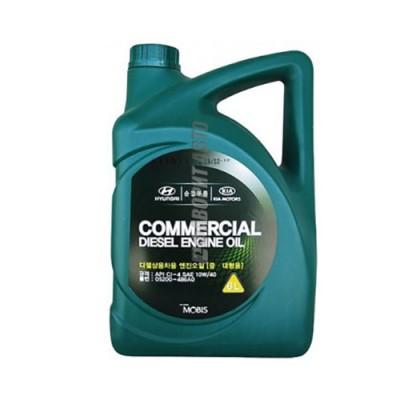 Моторное масло HYUNDAI Commercial Diesel 10W-40, 6л, полусинтетическое