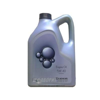 Моторное масло LEXUS 5W-40, 5л, синтетическое