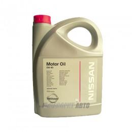 NISSAN  Motor Oil 5W40  5л  (KE90090042R) EU