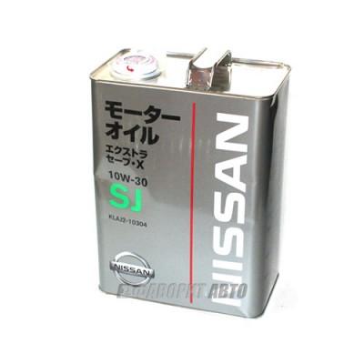 Моторное масло NISSAN SJ EXTRA SAVE X 10W-30, 4л, минеральное