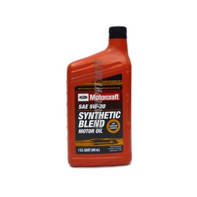 Моторное масло MOTORCRAFT Premium Synthetic Blend Motor Oil 5W-20, 1л, синтетическое