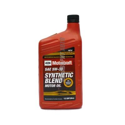 Моторное масло MOTORCRAFT Synthetic Blend Motor Oil 5W-30, 1л, полусинтетическое