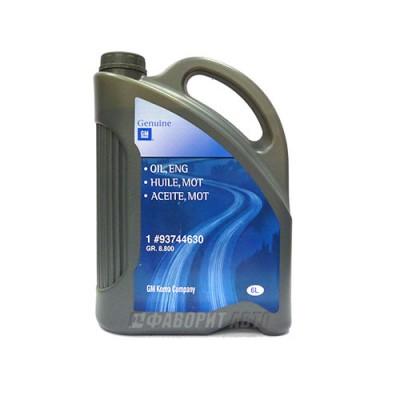 Моторное масло GM ENGINE OIL 5W-30, 6л, синтетическое