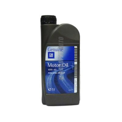 Моторное масло GM Semi Synthetic 10W-40, 1л, полусинтетическое