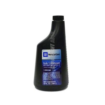 Трансмиссионное масло GM REAR AXLE LUBE 80W-90, 0,68л, синтетическое