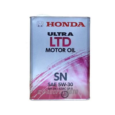 Моторное масло HONDA Ultra MOTOR OIL LTD 5W-30, 4л, синтетическое