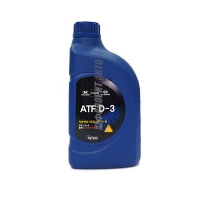 Трансмиссионное масло HYUNDAI ATF APOLL OIL D3, 1л, минеральное
