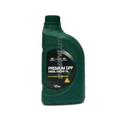 Моторное масло HYUNDAI Premium DPF Diesel 5W-30, 1л, синтетическое