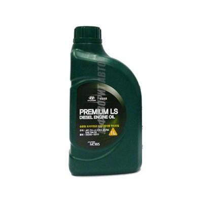 Моторное масло HYUNDAI Premium LS Diesel 5W-30, 1л, полусинтетическое