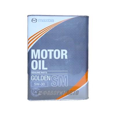 Моторное масло MAZDA Golden 5W-30, 4л, минеральное