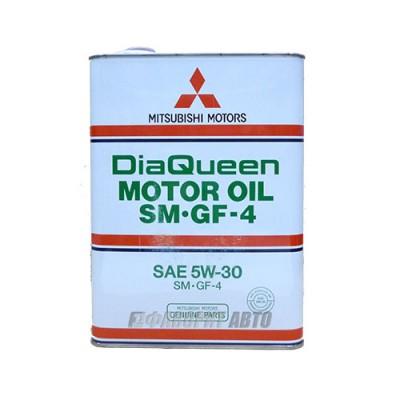 Моторное масло MITSUBISHI Motor 5W-30, 4л, синтетическое