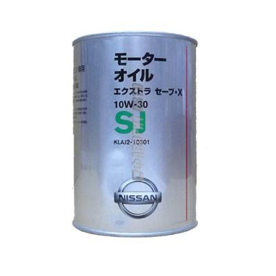Моторное масло NISSAN SJ EXTRA SAVE X 10W-30, 1л, минеральное