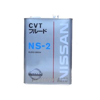 Трансмиссионное масло NISSAN CVT FLUID NS-2, 4л, синтетическое