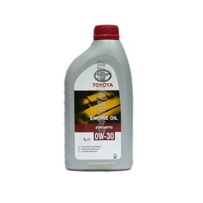 Моторное масло TOYOTA ENGINE OIL 0W-30, 1л, синтетическое