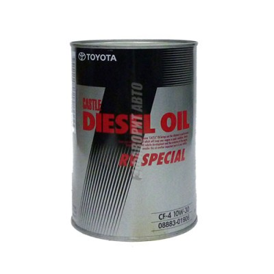 Моторное масло TOYOTA Diesel RV SPECIAL 10W-30, 1л, полусинтетическое