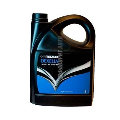 Моторное масло MAZDA DEXELIA 10W-40, 5л, полусинтетическое