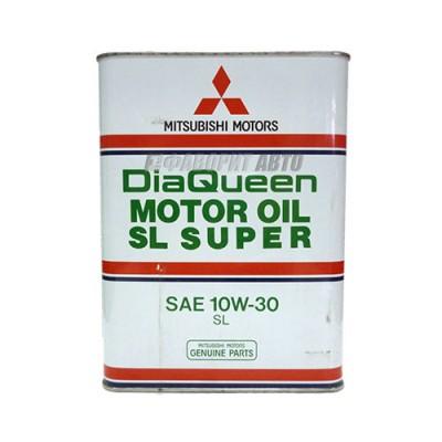Моторное масло MITSUBISHI DiaQueen 10W-30, 4л, минеральное