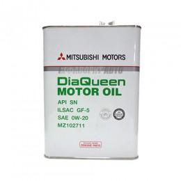 MITSUBISHI  Motor Oil 0W-20 SN/GF-5  4л  (MZ320724)