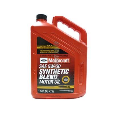 Моторное масло MOTORCRAFT Synthetic Blend Motor Oil 5W-30, 5л, полусинтетическое
