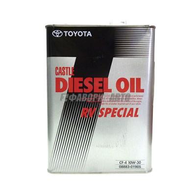 Моторное масло TOYOTA DIESEL OIL RV SPECIAL 10W-30, 4л, минеральное