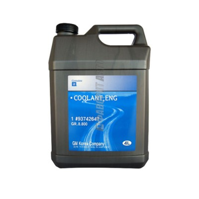 Антифриз GM ANTIFREEZE DEXCOOL Long Life, 4л