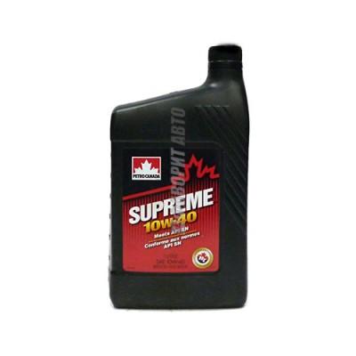 Моторное масло PC SUPREME 10W-40, 1л, полусинтетическое