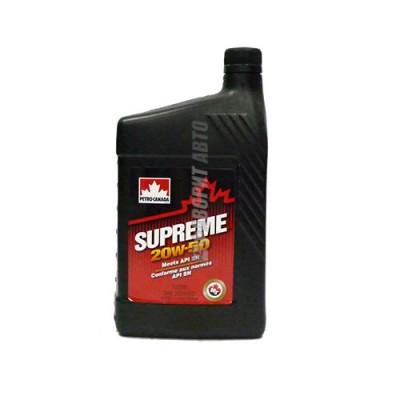 Моторное масло PC SUPREME 20W-50, 1л, полусинтетическое